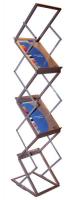 Zig Zag brochure stand (6x A4)